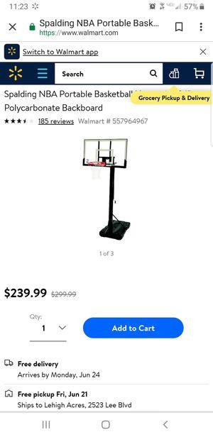 Basketball hoop for Sale in Sebring, FL