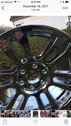 Chrome rims brand new 17x8.5 for ford and gmc for Sale in Columbus, OH