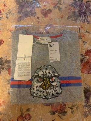 Brand new Gucci shirt size 8 for kids for Sale in Malden, MA