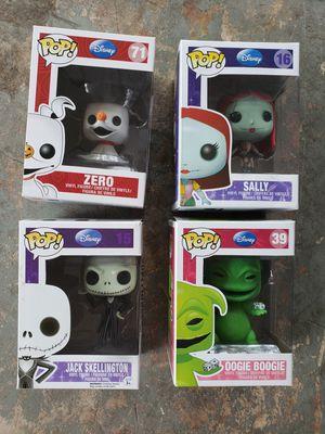 Disney Nightmare Before Christmas Funko Pops for Sale in Altamonte Springs, FL