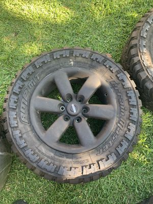Nissan Titan plasti dip rims and tires for Sale in League City, TX