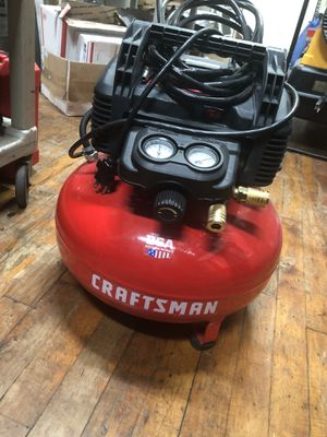 Compressor, Tools-Air Craftman Small pumpkin style 150 PSI 6 Gal for Sale in Baltimore, MD