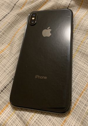 Black iPhone 10X for Sale in Downey, CA