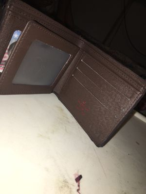 louis vuitton wallet brown checkered for Sale in San Diego, CA