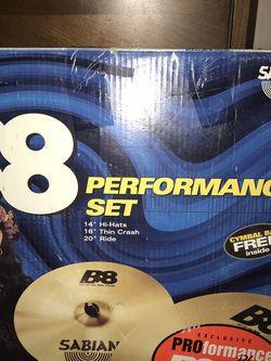 Sabian Cymbal Set (NEW‼️) for Sale in Yakima,  WA
