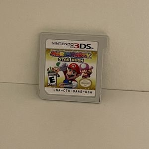 Mario Party: Star Rush (Nintendo 3DS, 2016)—Authentic, Tested and Working for Sale in Long Valley, NJ