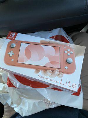 Nintendo Switch Lite Coral for Sale in Rio Linda, CA