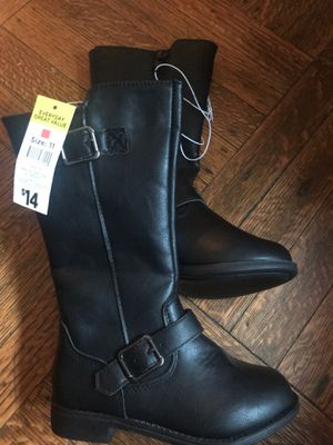 Girls black boots for Sale in Cleveland, OH