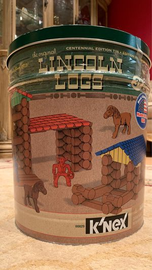 153 pc Lincoln logs for Sale in Springfield, VA
