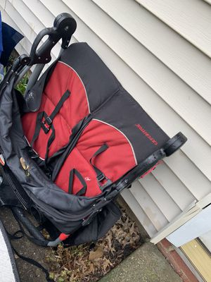 Free double stroller needs wheel for Sale in Parma Heights, OH
