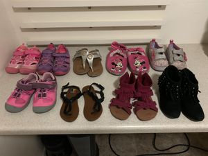 Girls shoes 6 dollars each when you buy 2 or more for Sale in Mesa, AZ