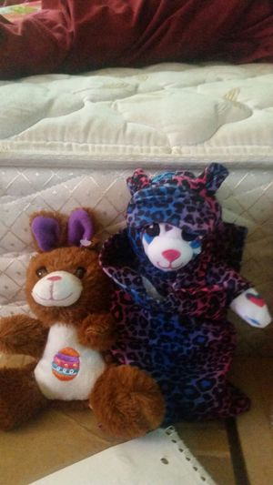2 stuffed animal one is ty for Sale in Fairview, TX
