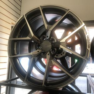 """BLACK FRIDAY SPECIALS 20"""" Staggered Wheels Rims Tires AMG style Fit All Mercedes Models 4matic Awd E350 E550 for Sale in Queens, NY"""