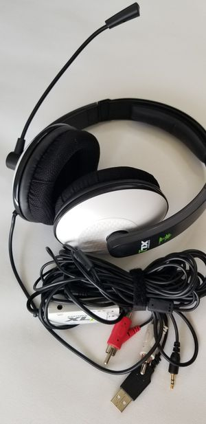 Turtle Beach - Ear Force XL1 Gaming Headset - Amplified Stereo - Xbox 360 for Sale in Bellflower, CA