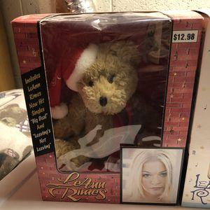 Leann Rimes Special Holiday Edition Bear & CD for Sale in Joppa, MD