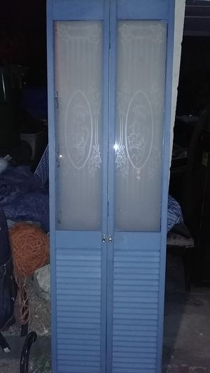 Split door with etched glass for Sale in St. Louis, MO