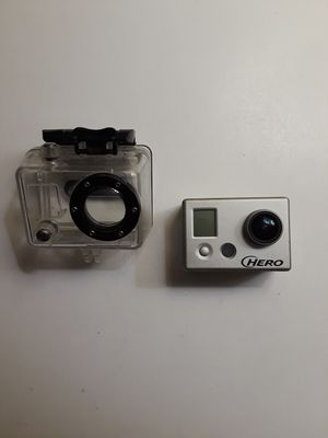 Go Pro Hero HD with water/windproof case for Sale in Salt Lake City, UT