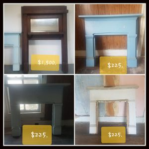 1940s Fireplace surround for Sale in Bedford, VA