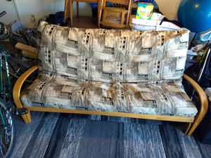 Futon couch and bed for Sale in Kent, WA