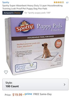 Puppy Pads for Sale in San Jose, CA