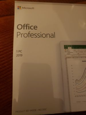 Microsoft office professional 2019 for Sale in Anderson, SC