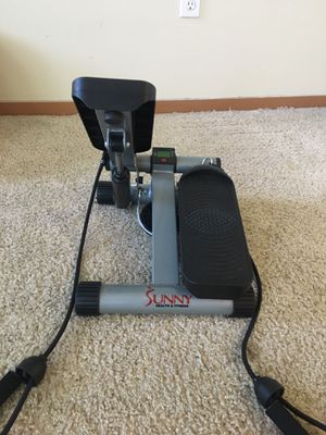 Sunny Health & Fitness Mini Stepper Stair Stepper Exercise Equipment with Resistance Bands for Sale in Seattle, WA