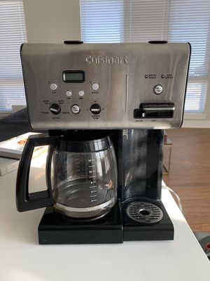 Cuisinart 12-Cup Coffee Maker with Hot Water System for Sale in Durham, NC