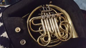 Glory double french horn in excellent condition with case for Sale in Peoria, IL