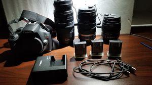 Canon EOS Rebel T5 for Sale in Georgetown, DE