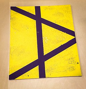 Linear Lemon 10 x 5 inch Matt Paint on Canvas for Sale in Chandler, AZ