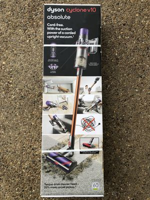 Dyson Cyclone V10 Absolute Cordless Handheld Stick Vacuum Lightweight for Sale in Grand Prairie, TX