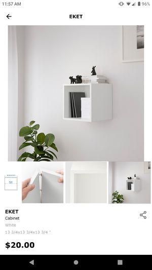 Ikea Wall Decor/Shelves 'Eket' Cube Shaped for Sale in Gahanna, OH
