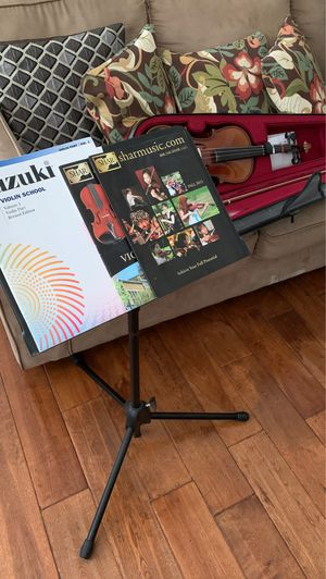 Violin with Stand for Sale in Pacifica, CA