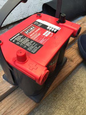 "Optima Battery REDTOP- high-performance GEL"" for Sale in Baldwin Park, CA"