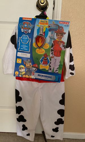 Toddler paw patrol costume for Sale in San Diego, CA