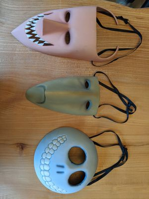 LOCK, SHOCK & BARREL CERAMIC WALL MASKS from Disney Nightmare Before Christmas for Sale in Vancouver, WA
