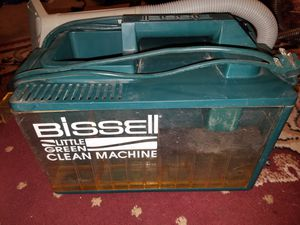 Vintage Bissell Little Green Cleaning Machine Shampooer for Sale in San Antonio, TX
