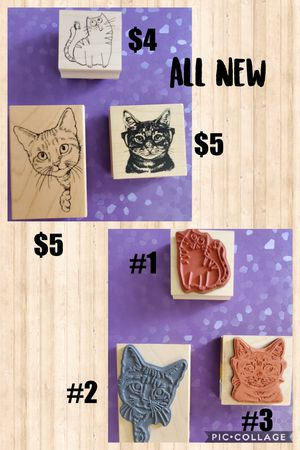 Cat Stamps for Sale in Lincoln, NE