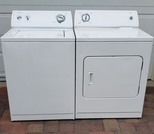 Whirpool Washer & Electric Dryer (Clean inside and out) (Matching Set) for Sale in Orlando, FL