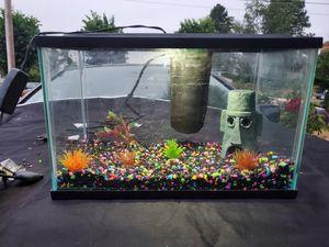10gal fish aquariam fish tank animal habitat for Sale in Vancouver, WA