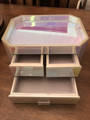 Pottery Barn Teen Iridescent Beauty Box for Sale in Vancouver, WA