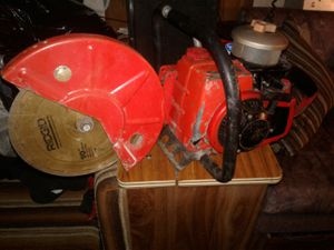 Homelite 100cc 2stroke saw and blade for Sale in Tacoma, WA