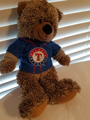 Texas Rangers Stuffed Bear Soft cuddly Toy for Sale in Denton, TX