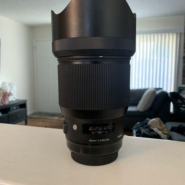 Sigma ART 85mm (Canon EF)
