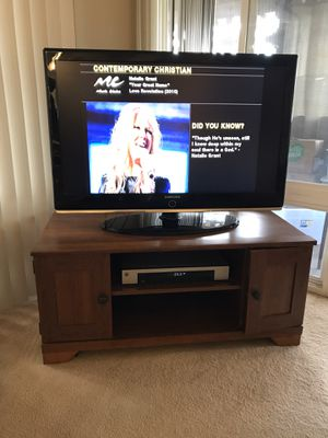 Wooden TV stand for Sale in Seal Beach, CA