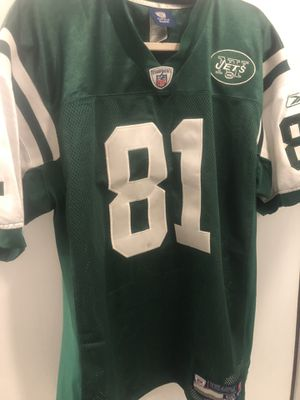 Dustin Keller official New York Jets Reebok on field edition men's large game day nfl jersey for Sale in Cresskill, NJ