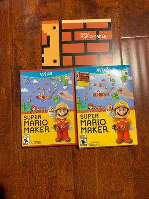 Super Mario Maker - Nintendo Wii U box set new for Sale in Diamond Bar, CA