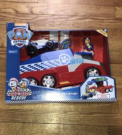 PAW Patrol, Ready, Race, Rescue Mobile Pit Stop Team Vehicle with Sounds, for Kids Aged 3 and Up for Sale in French Creek,  WV