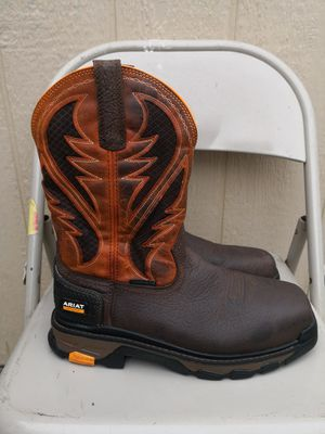 Ariat composite toe work boots size 11D for Sale in Riverside, CA