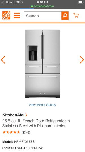 Brand new kitchenaid refrigerator never been opened for Sale in Las Vegas, NV